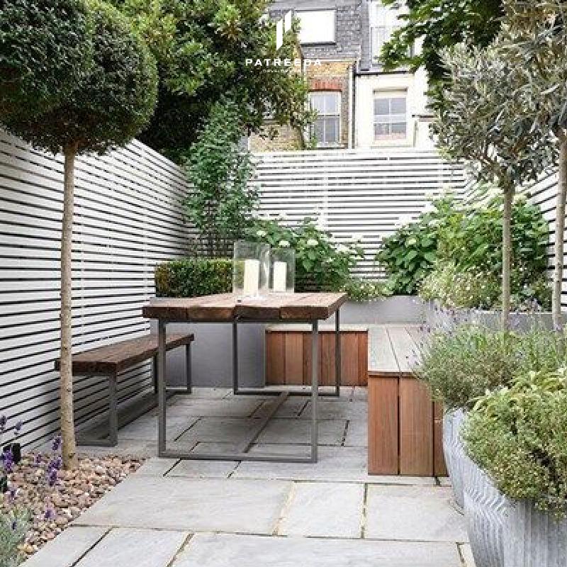 เพิ่มพื้นที่สีเขียวให้แก่บ้านด้วยสวนข้างบ้าน