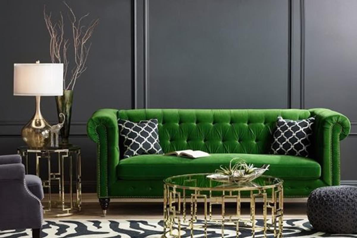 ไอเดียแต่งบ้านด้วยสีเขียวแบบเรียบหรู